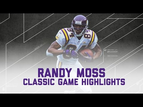 Randy Moss 168 rec yards & 3 TD Game! | Vikings vs. Lions (Highlights) | NFL