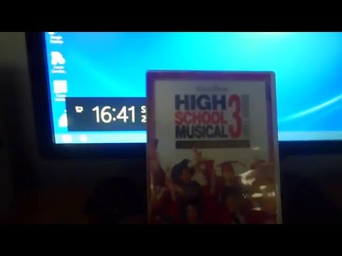 High School Musical 3 Senior Year (UK) DVD Unboxing