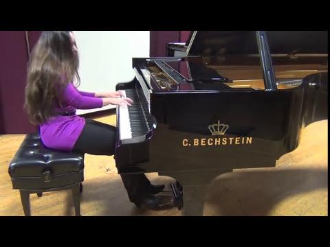Scarlatti on 4 pianos: Bechstein, Estonia, Shigeru, Steinway Concert Grands-Yana Reznik