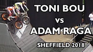 Adam Raga vs Toni Bou - Sheffield Indoor Motorbike Trial 2018 thumbnail