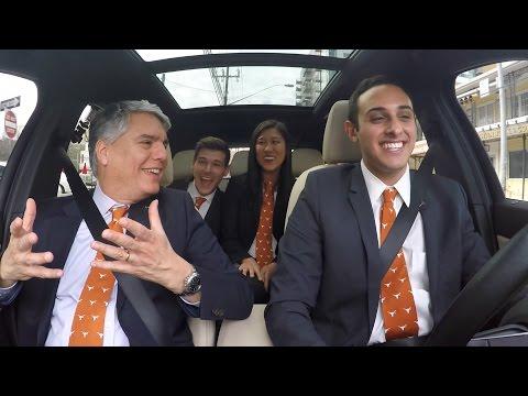 President Fenves Carpool Karaoke