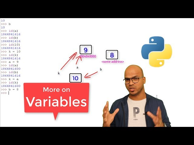 #9 Python Tutorial for Beginners | More on Variables in Python