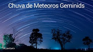 Dezembro tem chuva de estrelas
