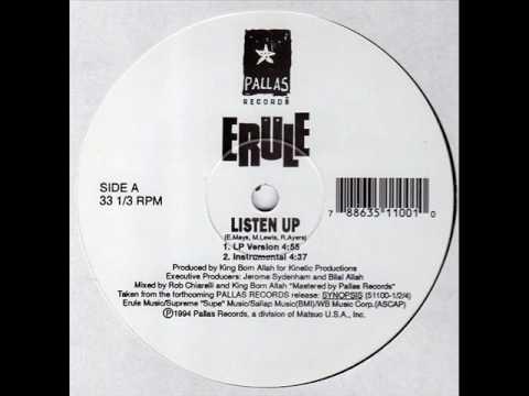 Erule Listen Up Youtube