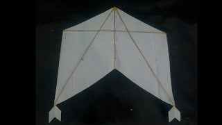 How to Make ZERODHA Kite // Fly a Kite / Making an Amazing Kite / International Kite // Sytlish Kite