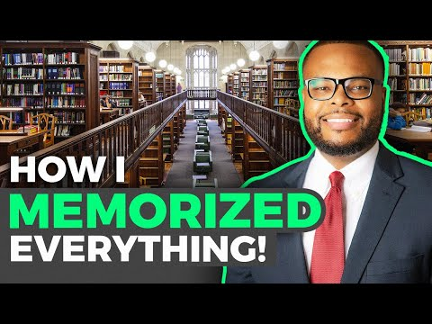 How I MEMORIZED EVERYTHING In Medical School (and Residency)