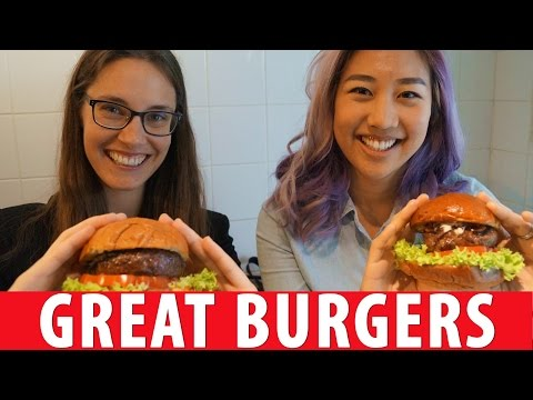 3 Great Burgers in Amsterdam