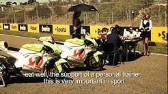 Gran Premio bwin de España - MotoGP riders turn starting grid into a poker arena