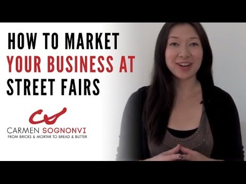 Top 7 Street Fair Booth Ideas for Local Business Marketing | Carmen Sognonvi