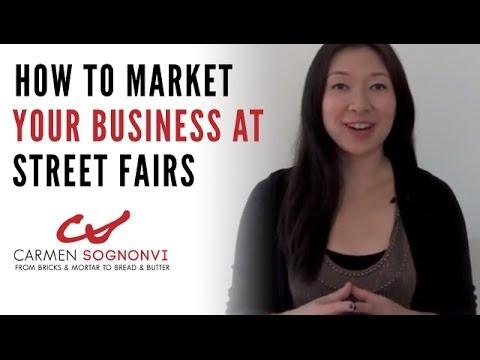 Top 7 Street Fair Booth Ideas for Local Business Marketing | Carmen Sognonvi thumbnail