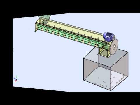 Solidworks Screw Conveyor To Sheet Metal Doovi