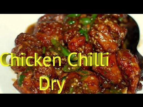 Chicken Chilli Dry recipe by Deepa khurana1.7 Millions + Views