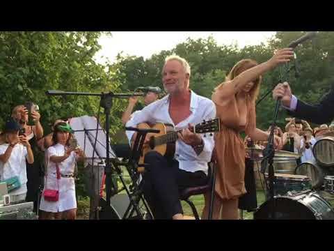 Sting Live - Englishman In New York