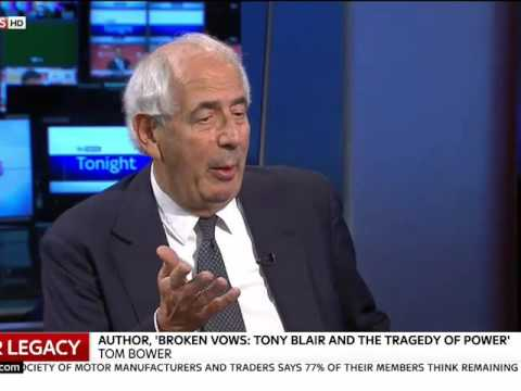 tom bowers broken vows ,on tony blairs legacy