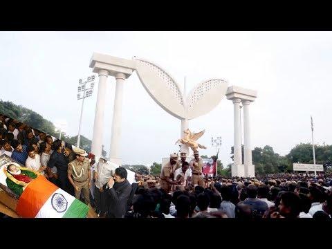 SELVI J.Jayalalithaa   06 12 2016    FUNERAL PROCESSION   S WEB TV