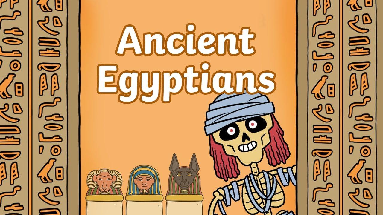 Walk Like An Egyptian Clipart For Kids