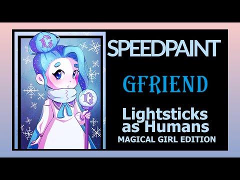 [speed-paint]-kpop-lightsticks-as-humans?!---gfriend-2019-vers.