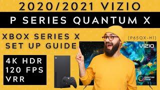 2020/2021 Vizio P Series Quantum X (P65QX-H1) Xbox Series X Unboxing and Setup Guide