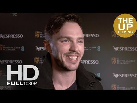 Nicholas Hoult interview at BAFTA Nominees Party 2018