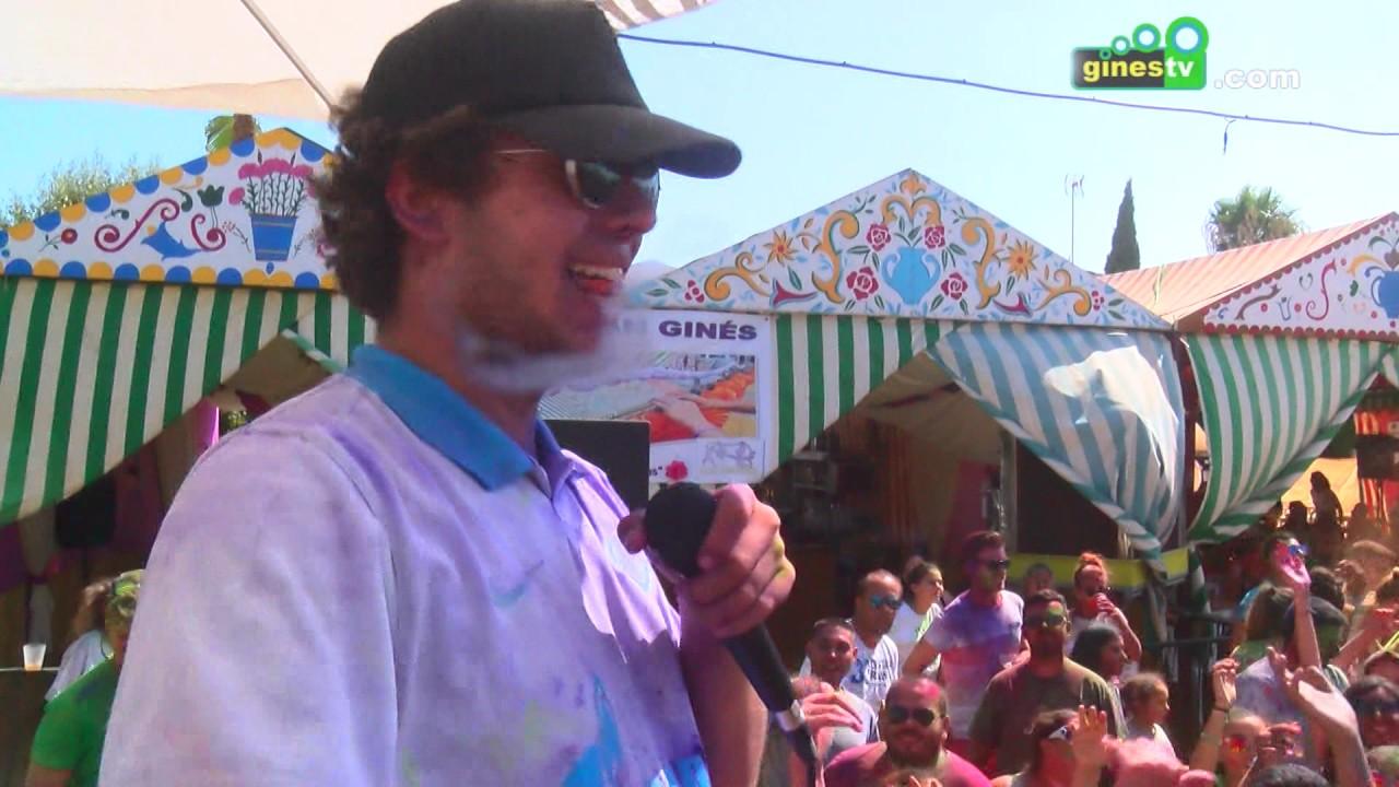 """""""The Color Party"""", la gran fiesta del color en la Feria de Gines"""
