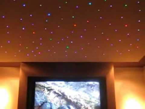 COLOUR STAR CEILING KIT - DIY FIBRE OPTIC CEILING STARS - YouTube