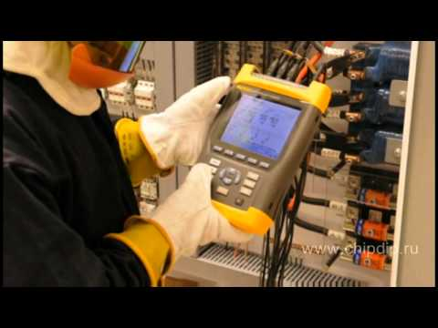 Fluke appliances in electric power industry