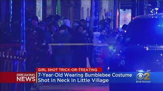 7-Year-Old Girl Shot While Trick-Or-Treating
