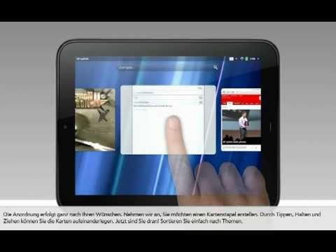HP TouchPad- Offizielle deutsche Demo