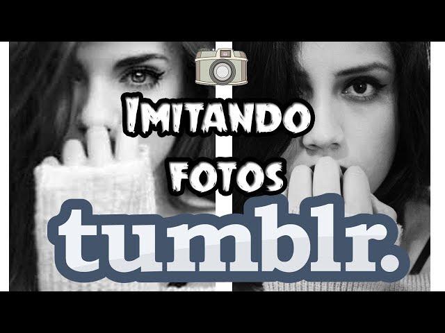 Imitando fotos TUMBLR en casa | Fotos Tumblr fáciles | Valeria Silva