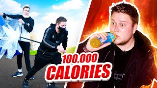 I Attempted the SIDEMEN 100,000 CALORIE BATTLE