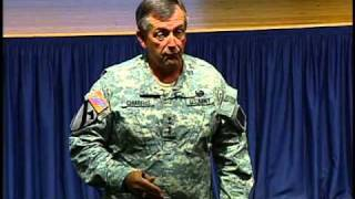Gen. Chiarelli at the Army Leaders Forum, part 3