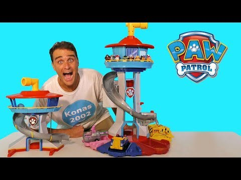 paw-patrol-giant-my-size-lookout-tower-!-||-toy-review-||-konas2002