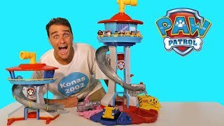 Paw Patrol Giant My Size Lookout Tower ! || Toy Review || Konas2002