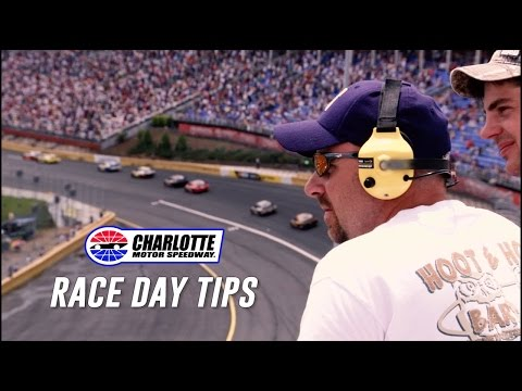 Charlotte Motor Speedway Race Day Tips