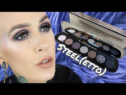 NEW Marc Jacobs Steel(etto) Eye-Conic Palette Overview & Tutorial