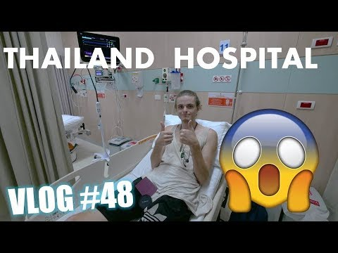 CAT ATTACK SENDS ME TO A THAI HOSPITAL | MONKS HAVE FACEBOOK!? | BACKPACKING THAILAND VLOG#48
