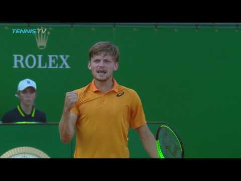 The best of David Goffin vs Novak Djokovic | Monte-Carlo Rolex Masters 2017 Day 6 Highlights
