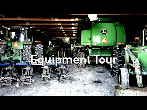 WES FARMS EQUIPMENT TOUR 2020