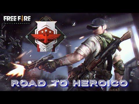 A DOS DE VIDA OMG... ||ROAD TO HEROICO|| [FREE FIRE]