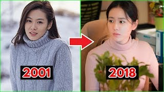 Son Ye Jin Evolution 2001 - 2018