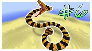 Магия & Змея - Битва Строителей #6 - Minecraft Mini-Game