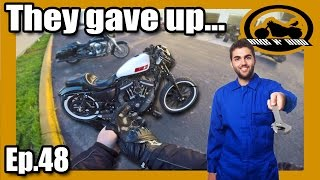 Mechanics Give Up on Harley Sportster - BNB Motovlog Ep.48