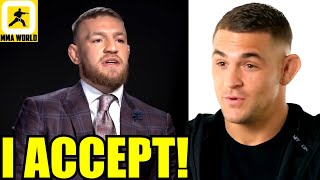 Conor McGregor has accepted UFC's offer to fight Dustin Poirier but wants it in 2020 not 2021,Tony