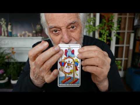 Tarot Reading by Alejandro Jodorowsky for Atta D - english subtitles