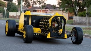 Life Size Lego Car Powered by Air thumbnail