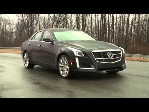 Watch the 2014 Cadillac CTS get its groove on in the rain