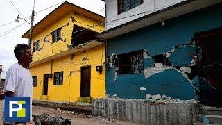 Familias temen regresar a sus casas luego del siniestro sismo que azotó sin piedad al país