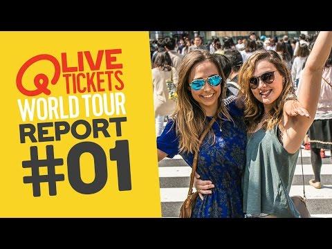 TORNADO BIJ COLDPLAY?! // #01 - Q-live tickets World Tour