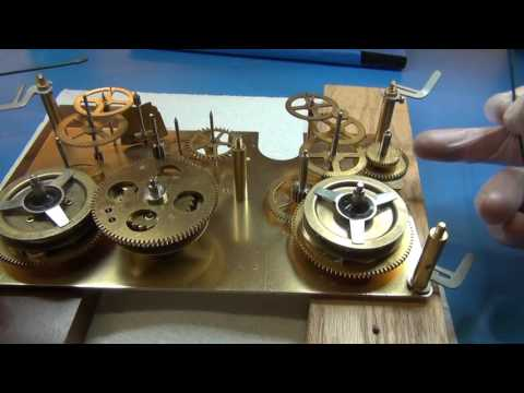 How to Assemble Oil and Grease a Grandfather Clock part 3 of 4