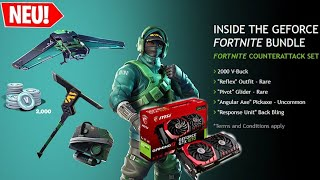 NEW REFLEX GEFORCE GTX SKIN BUNDLE! | Fortnite Battle Royale